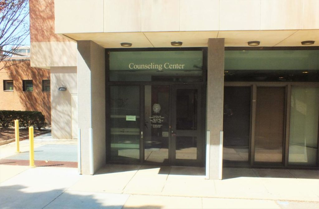 Image of CAPS Counseling Center building exterior