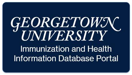 navigate to GU Immunization database portal